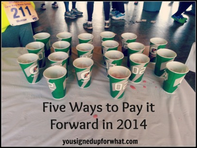 Pay It Forward 2014